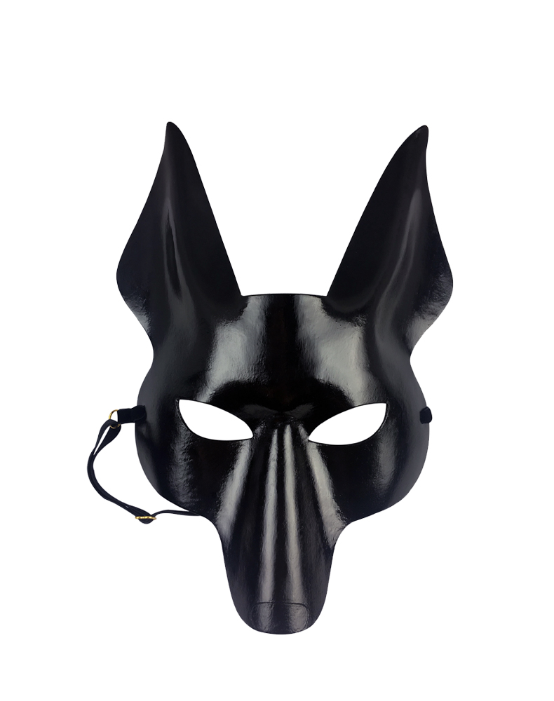 Leather Anubis Mask