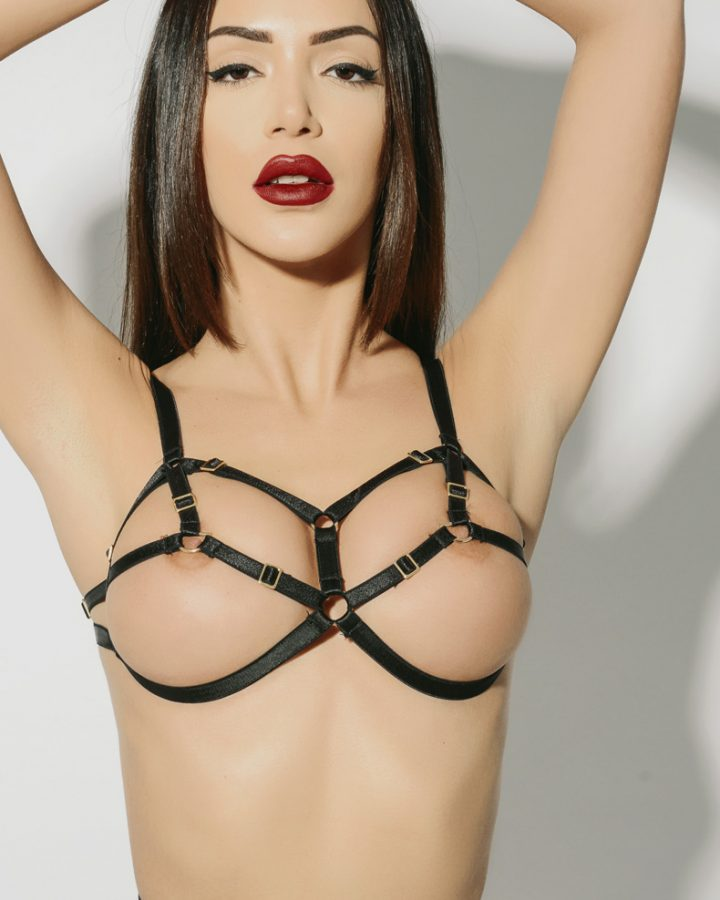 15d38b3f7 D-Ring Bondage Bra – black